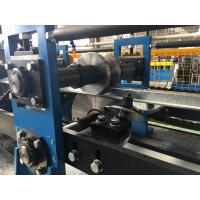 Buy cheap 14 stations Omega Purlin Roll Forming Machine Track cutting system from wholesalers