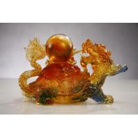 Buy cheap Liu Li Crystal Dragon Statue from wholesalers