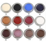 Buy cheap 12 Color High Pigment Waterproof Private Label Gel Eyeliner Pacakaing from wholesalers