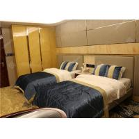 Buy cheap Five Star Marriott Luxury Hotel Bedroom Furniture With Wardrobe Highly Endurable from wholesalers