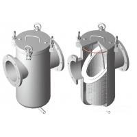 Buy cheap Steel Oi l / Gas Water Meter Strainer 150lbs / PN16 , Straight Basket Type Strainer product