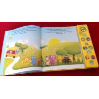 Buy cheap Children sound book, kids music book, custom music book printing from wholesalers