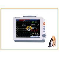 Buy cheap 6 Parameters Veterinary Vital Signs Monitor , Portable Veterinary Spo2 Monitor product