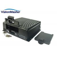 Buy cheap 3G WIFI HDD Mobile Dvr , 4Ch GPS Mobile DVR Digital Video Recorder Aviation Connector product