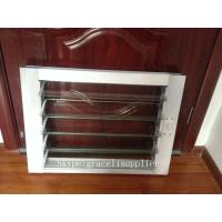 Buy cheap Folding fixed Aluminum Glass Louvered windows with Australian Standard glass from wholesalers