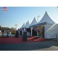 Buy cheap Anti - Ultraviolet Pagoda Wedding Party Tent 5 x 5m With Glass Curtain Wall from wholesalers