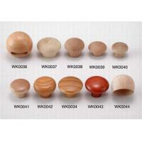 Natural Upscale Pellet Wooden Knobs Handles For Drawer Movable Compact Design