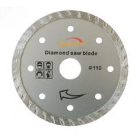 Buy cheap ISO9001 Turbo Thin Diamond Saw Blade 5 Inches For Ceramic / Porcelain from wholesalers