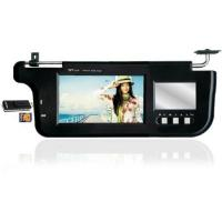 Buy cheap 7 inch Sun visor Monitor(Left/Right) with FM transmitter,SD card slot from wholesalers