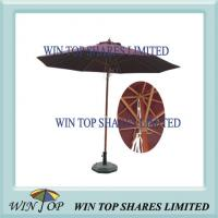 Buy cheap 2.7m Wooden Pole Outdoor Patio Umbrella product