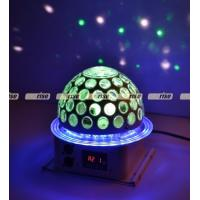 Buy cheap 6x3W 360 Degree LED Effect Light , Disco Dj Stage Lighting Led Rgb Crystal Magic Ball from wholesalers