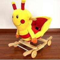 Buy cheap Fashion Baby Rocking Chair Honeybee Animal Plush Toys For Children Playing from wholesalers