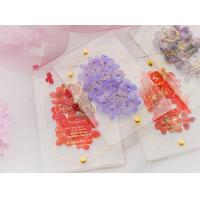 Buy cheap acrylic invitation magnetic wedding and envelope card double layers flower product