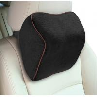Buy cheap Light Car Seat Neck Rest PillowMemory Foam Cotton Naterial 27*22*12cm Size from wholesalers
