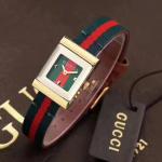 Buy cheap Gucci Watch color bar belt with original swiss movement G-Frame Bracelet Wristwatch Clocks replica from wholesalers
