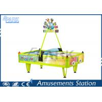 Buy cheap Fiberglass Material English Version 4 Person Air Hockey Table from wholesalers