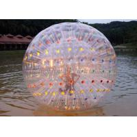 Buy cheap Giant Color Dot Inflatable Human Hamster Ball For Blow Up Water Park from wholesalers