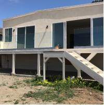 Buy cheap Exterior frameless glass balcony railings aluminum u channel base from wholesalers