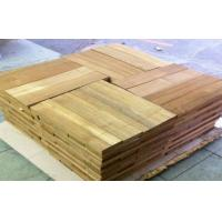 Buy cheap Sliced Cut  Wood Flooring Veneer Sheet , Teak Wood Veneering 0.5 mm from wholesalers