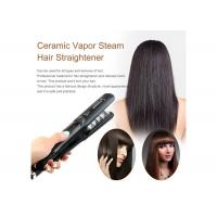 Buy cheap 2.5m Power Cord Steam Straightening Iron Tourmaline Plate 6 Temp Lock Settings from wholesalers