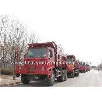 Buy cheap China HOWO 6x4 Mining dump / Tipper Truck 6 by 4 driving model EURO2 Emission from wholesalers
