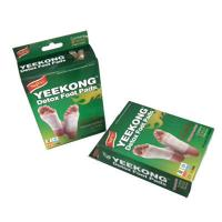 Buy cheap best selling Yeekong ODM/OEM gold relax biomagick detox foot patch/ pads bamboo wood vinegar relieve pain improve sleep product