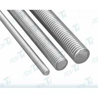 Buy cheap Continuous Thread Studs Titanium Fastener Threaded Rod For Flange Bolting from wholesalers