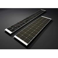 Buy cheap 18V 170W High Efficiency Solar Panels  U - Type Monocrystalline Silicon Solar Module from wholesalers