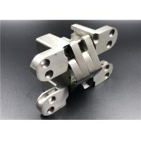 Buy cheap Satin Stainless Steel Hidden Door Hinges With Wide Stronger Connecting Arms from wholesalers