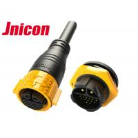 Buy cheap 22 Pin Waterproof Male Female Connector Outdoor Circular Shape IP67 product