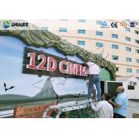 Buy cheap Shopping Center 12D Movie Theater XD Theater With Electronics Motion Seats product