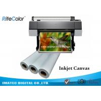 Buy cheap 360gsm Eco Solvent Matte Printable Cotton Inkjet Printing Plotter Photo Canvas from wholesalers