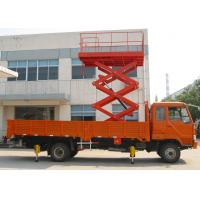 Buy cheap Color Customized Vehicle Mounted Work Platforms Steel Material Industrial Scissor Lift from wholesalers