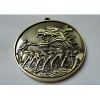 Buy cheap Custom Zinc Alloy / Pewter / Dragon / Brass Boat 3D Die Cast Medals for Souvenir Gift from wholesalers