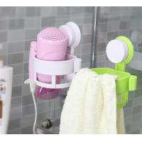 Buy cheap Green ECO Friendly Hair Dryer Holder Plastic Bathroom Sets With LFGB FDA from wholesalers