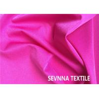 Buy cheap Plain Colors Nylon Swimwear Fabric , Beachwear Polyester Fabric For Swimwear from wholesalers