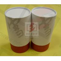 Wine Storage Paper Tube Packaging Cylinder Paper Box With Ribbon