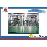 Automatic Pet Bottle Filling Machine 8.6KW , Mineral Water Equipments 3700 × 2800 × 2200mm