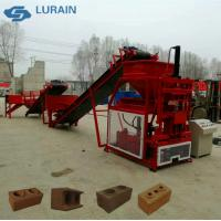 Buy cheap Hydraform soil cement interlocking brick block making machine price in Kenya from wholesalers