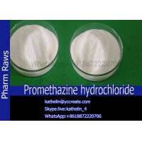 Buy cheap Antihistamine Powder Pharmaceutical Raw Materials Promethazine Hydrochloride Treat Nausea  No 58-33-3 from wholesalers