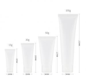 Buy cheap Transparent 2oz Squeeze Travel Bottles With Flip Cap product