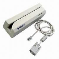 Buy cheap High/Low Co Magnetic Stripe Card Reader/Writer with FCC, CE and RoHS Marks from wholesalers