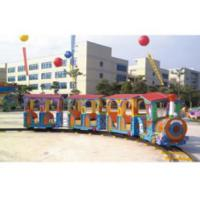 Buy cheap Residential Area Kids Ride Along Train And Track / Sit On Train Set Anti UV from wholesalers