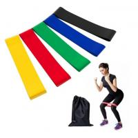 Buy cheap Cheap Cost Exercise Gym Yoga Pilates Fitness Loop 100% natural Latex Resistance Bands With Custom Logo from wholesalers