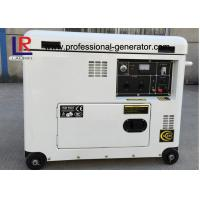 Buy cheap Electric Start 5.5kw Diesel Generator , Brush with AVR , Straight Shaft Coupling product
