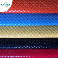 Buy cheap Shoes Garment Quilted Leather Fabric , Cotton Quilting Fabric Smooth Surface from wholesalers