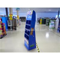 Buy cheap Candy / Chocolate POP Cardboard Displays 4-tier CMYK Offset printing from wholesalers