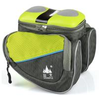 Bluetooth Bicycle Speaker Bag With Silica Gel Key - Press Carried 40mm Detachable