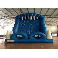 Buy cheap Blue Rock Climbing Bounce House 6 X 4m , Commercial Inflatable Ladder Climb from wholesalers