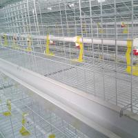 Buy cheap Husbandry Livestock Poultry Chicken Cage 4 Tiers 8 Doors High Durability from wholesalers